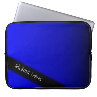Electric Blue Computer Sleeve