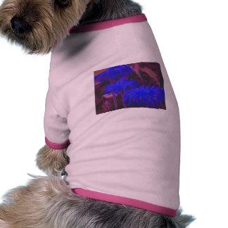 Electric Blue Daisies Doggie T Shirt