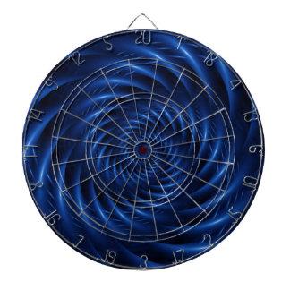 Electric Blue Dart Board