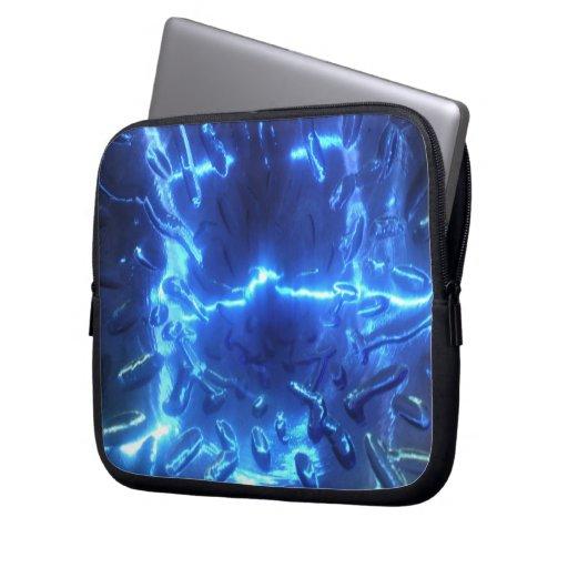Electric Blue Electronics Bag Laptop Computer Sleeve