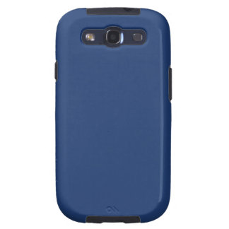 Electric Blue - Elegant Fashion Color Pattern Samsung Galaxy S3 Covers
