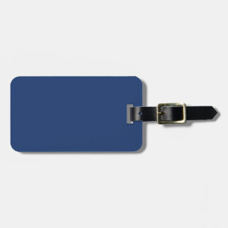 Electric Blue - Elegant Fashion Color Pattern Bag Tags