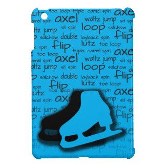 Electric Blue Figure Skating Mini iPad Cover