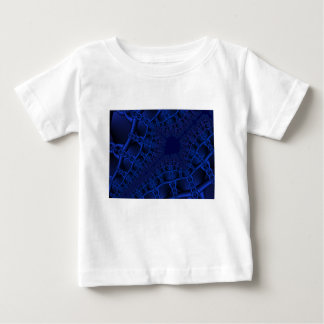 Electric Blue fractal Baby T-Shirt