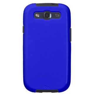 Electric Blue Galaxy SIII Cover