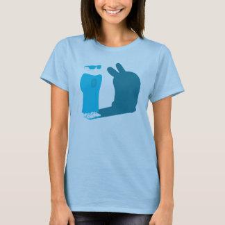 Electric-blue Harvey OS T-Shirt