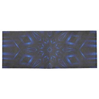 Electric Blue Kaleidoscope Wallet