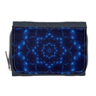 Electric Blue Mandala Wallet