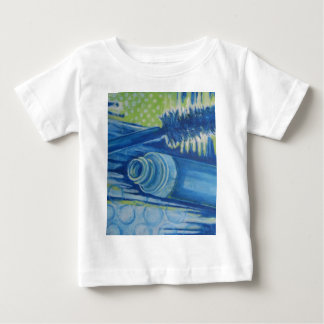 Electric Blue Mascara Baby T-Shirt