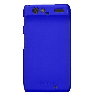 Electric Blue Motorola Droid RAZR Case