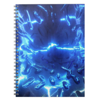 Electric Blue Notebook