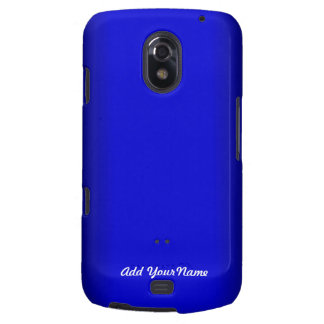 Electric Blue Personalize Galaxy Nexus Cover