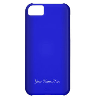 Electric Blue Personalize iPhone 5C Cover
