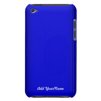 Electric Blue Personalize iPod Touch Case