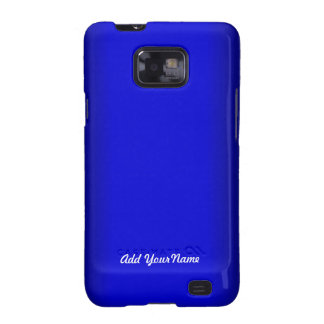 Electric Blue Personalize Samsung Galaxy SII Cases