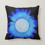 electric blue pillow