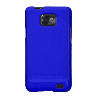 Electric Blue Samsung Galaxy SII Cases