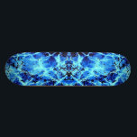 "Electric Blue Skateboard<br><div class=""desc"">Blue Abstract Painting</div>"