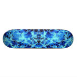 Electric Blue Skateboard<br><div class='desc'>Blue Abstract Painting</div>
