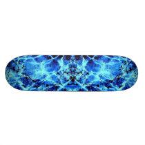 Electric Blue Skateboard