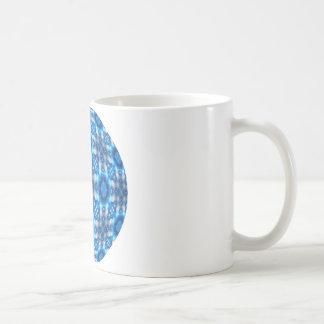 Electric Blue Stars Coffee Mugs