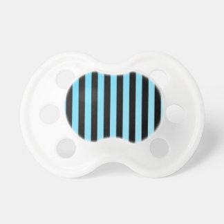 Electric Blue Stripes Pacifier
