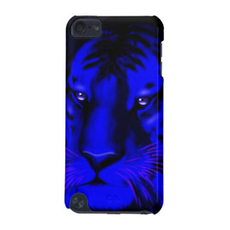 Electric Blue Tiger iPod Touch (5th Generation) Cover