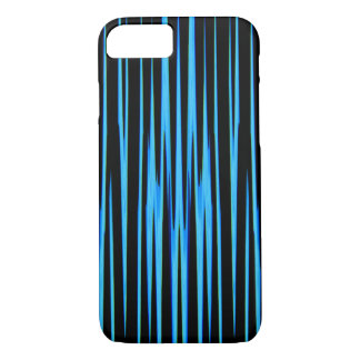 ELECTRIC BLUE TILE (an abstract art design) ~ iPhone 8/7 Case