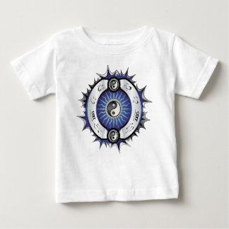 Electric Blue Yin Yang Baby T-Shirt