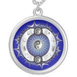 Electric Blue Yin Yang Jewelry