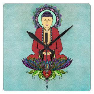 Electric Buddha Clock
