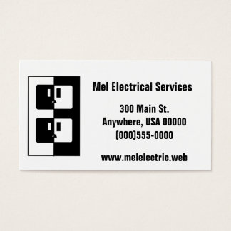 """""""Electric"""" Business Card"""
