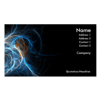 Electric Business Cards