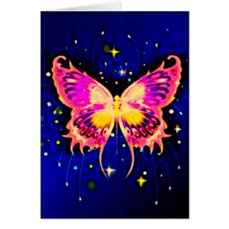 Electric Butterflies Card