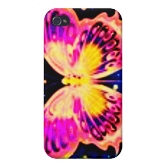 Electric Butterflies iPhone 4/4S Cover