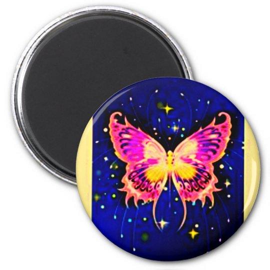 Electric Butterflies Magnet