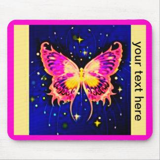 Electric Butterflies Mousepads