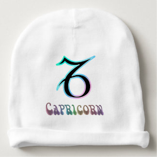 Electric Capricorn Baby Beanie