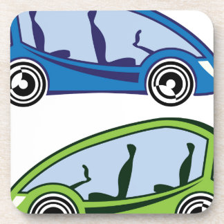 Electric Car Beverage Coaster