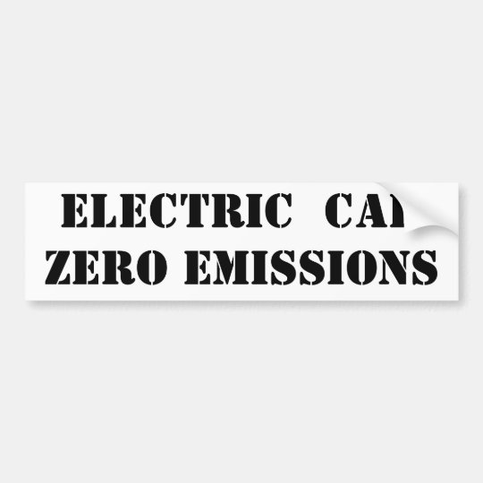 Bumper Stickers For Electric Cars
