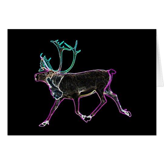Electric Caribou Card