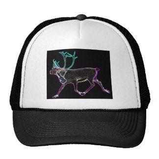 Electric Caribou Trucker Hats