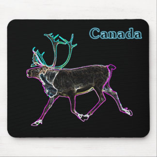 Electric Caribou Mouse Pad