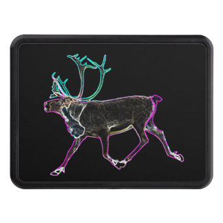 Electric Caribou Trailer Hitch Covers