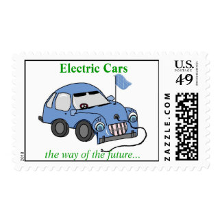 Electric Cars - postage