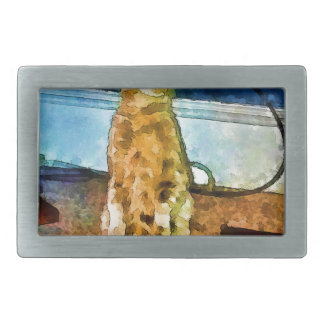 Electric cat card.jpg belt buckle