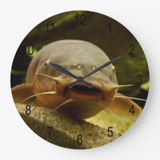 Electric catfish large clock