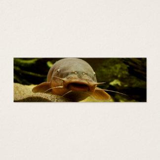 Electric catfish mini business card
