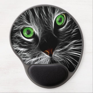 Electric Charge Cat Named John Gel Mouse Pad