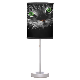 Electric Charge Cat Named Tim Desk Lamp